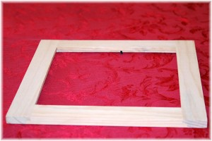 Wooden frame