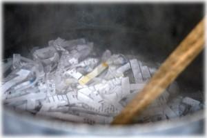 Boil paper
